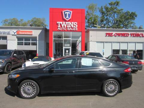 2014 Ford Fusion for sale at Twins Auto Sales Inc in Detroit MI