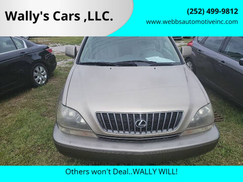 1999 Lexus RX 300 for sale at Wally's Cars ,LLC. in Morehead City NC