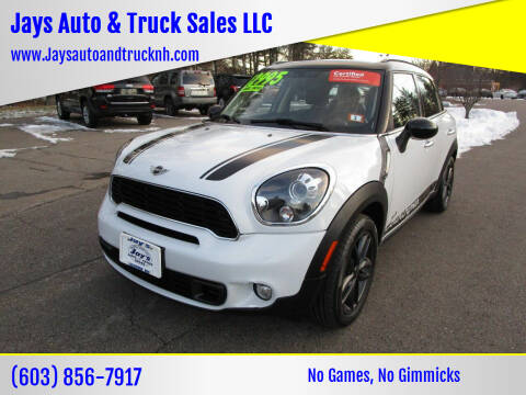 2014 MINI Countryman for sale at Jays Auto & Truck Sales LLC in Loudon NH