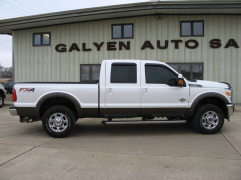 2015 Ford F-250 Super Duty for sale at Galyen Auto Sales Inc. in Atkinson NE