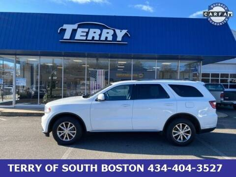 2015 Dodge Durango for sale at Terry of South Boston in South Boston VA