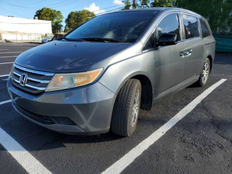 2011 Honda Odyssey for sale at Eden Cars Inc in Hollywood FL