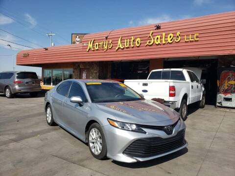 2018 Toyota Camry for sale at Marys Auto Sales in Phoenix AZ