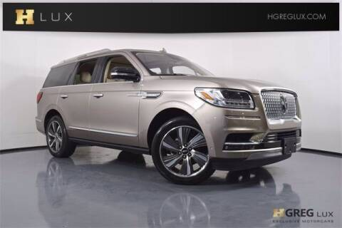 2019 Lincoln Navigator for sale at HGREG LUX EXCLUSIVE MOTORCARS in Pompano Beach FL