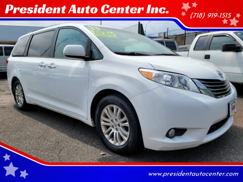2013 Toyota Sienna for sale at President Auto Center Inc. in Brooklyn NY