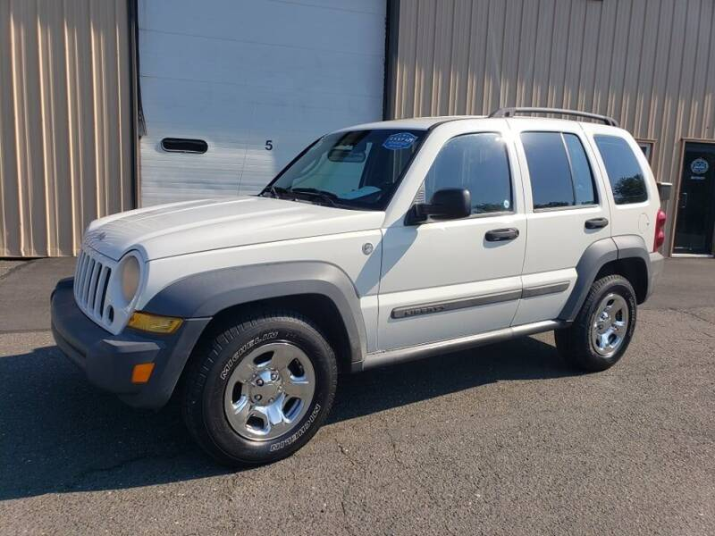 2007 Jeep Liberty for sale at Massirio Enterprises in Middletown CT