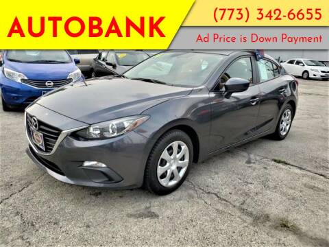 2016 Mazda MAZDA3 for sale at AutoBank in Chicago IL