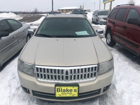 2009 Lincoln MKZ for sale at Blakes Auto Sales in Rice Lake WI