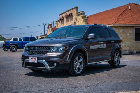 2016 Dodge Journey for sale at Jerrys Auto Sales in San Benito TX