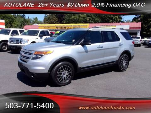2011 Ford Explorer for sale at Auto Lane in Portland OR