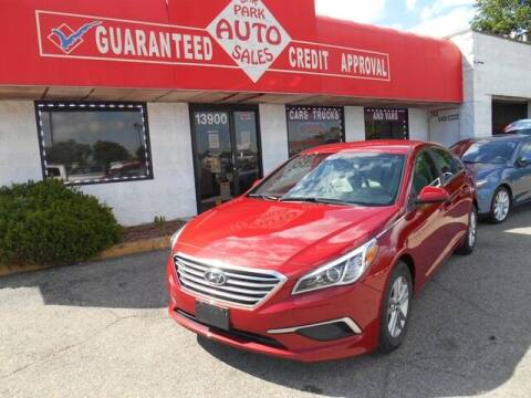 2017 Hyundai Sonata for sale at Oak Park Auto Sales in Oak Park MI