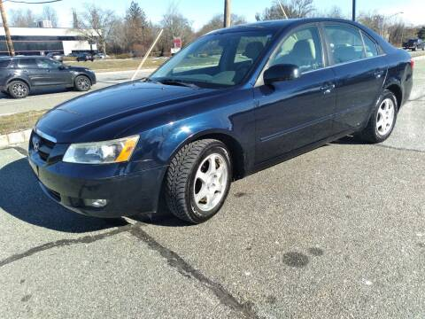 2006 Hyundai Sonata for sale at Jan Auto Sales LLC in Parsippany NJ