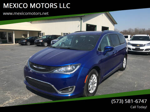 2020 Chrysler Pacifica for sale at MEXICO MOTORS LLC in Mexico MO