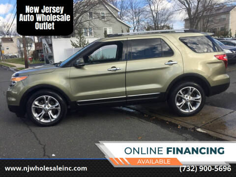 2013 Ford Explorer for sale at New Jersey Auto Wholesale Outlet in Union Beach NJ