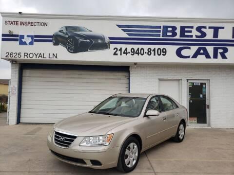 2010 Hyundai Sonata for sale at Best Royal Car Sales in Dallas TX
