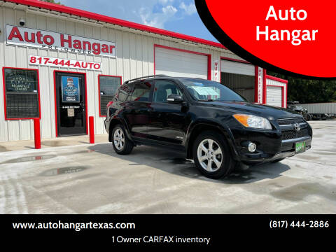 2010 Toyota RAV4 for sale at Auto Hangar in Azle TX