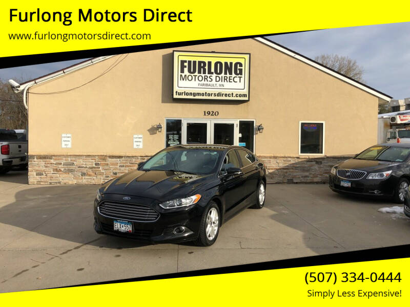 2016 Ford Fusion for sale at Furlong Motors Direct in Faribault MN