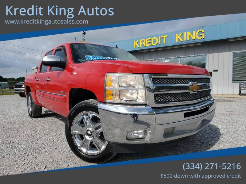 2012 Chevrolet Silverado 1500 for sale at Kredit King Autos in Montgomery AL