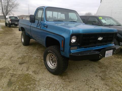 1977 Chevrolet C/K20 for sale at Regency Motors Inc in Davenport IA