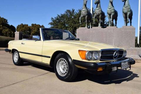 1979 Mercedes-Benz 450 SL for sale at European Motor Cars LTD in Fort Worth TX