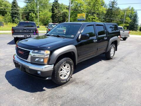 2010 GMC Canyon for sale at Motorsports Motors LLC in Youngstown OH