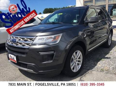 2018 Ford Explorer for sale at Strohl Automotive Services in Fogelsville PA