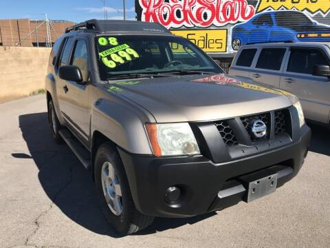 2008 Nissan Xterra for sale at Rock Star Auto Sales in Las Vegas NV