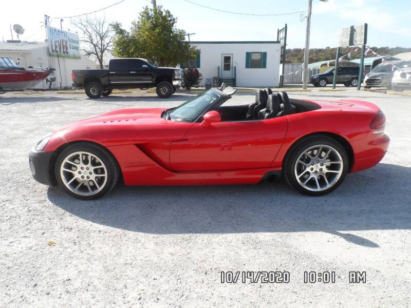 2003 Dodge Viper for sale at Town and Country Motors in Warsaw MO