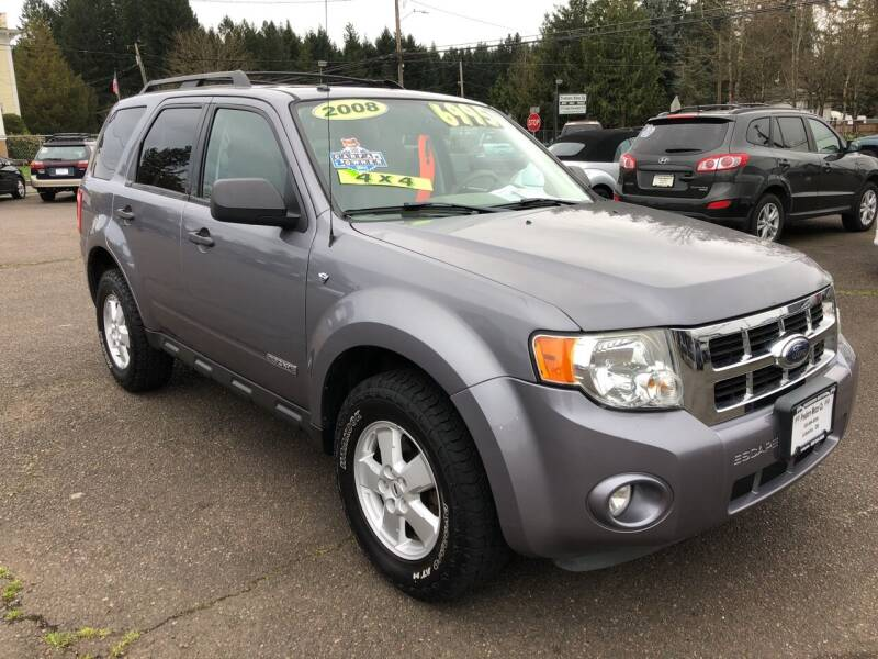 2008 Ford Escape for sale at Freeborn Motors in Lafayette, OR