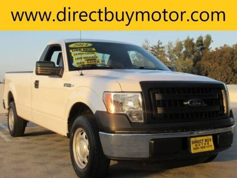 2014 Ford F-150 for sale at Direct Buy Motor in San Jose CA