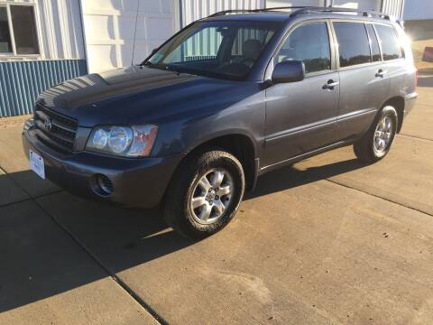 2003 Toyota Highlander for sale at Bauman Auto Center in Sioux Falls SD