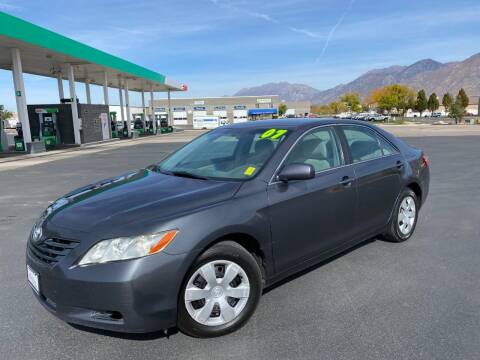 2007 Toyota Camry for sale at Evolution Auto Sales LLC in Springville UT