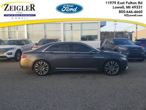 2017 Lincoln Continental for sale at Zeigler Ford of Plainwell- michael davis in Plainwell MI