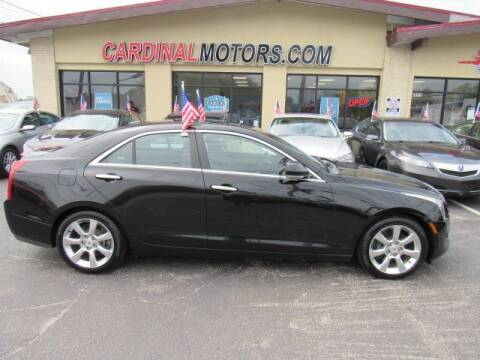 2013 Cadillac ATS for sale at Cardinal Motors in Fairfield OH