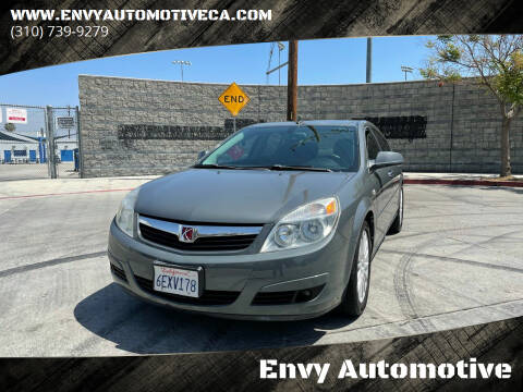 2008 Saturn Aura for sale at Envy Automotive in Studio City CA