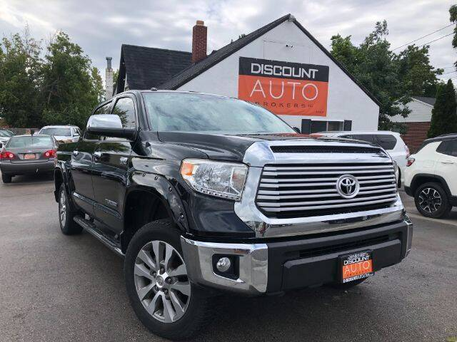 2017 Toyota Tundra for sale at Discount Auto Brokers Inc. in Lehi UT