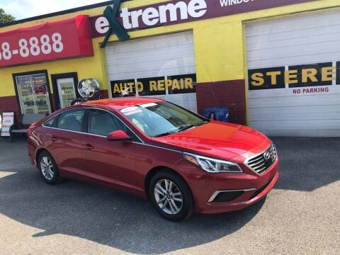 2017 Hyundai Sonata for sale at Extreme Auto Sales in Plainfield IN