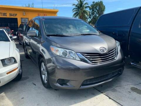 2011 Toyota Sienna for sale at America Auto Wholesale Inc in Miami FL