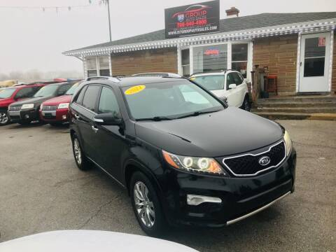 2011 Kia Sorento for sale at I57 Group Auto Sales in Country Club Hills IL