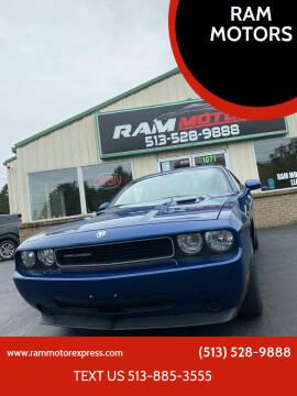 2010 Dodge Challenger for sale at RAM MOTORS in Cincinnati OH