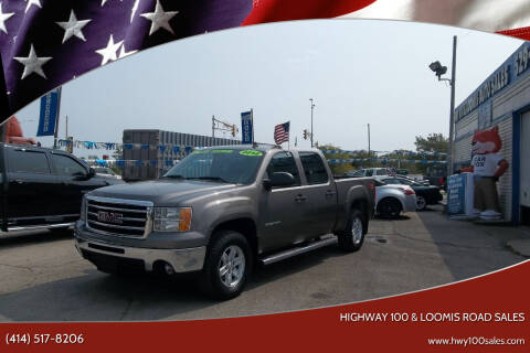 2012 GMC Sierra 1500 for sale at Highway 100 & Loomis Road Sales in Franklin WI