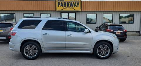 2012 GMC Acadia for sale at Parkway Motors in Springfield IL