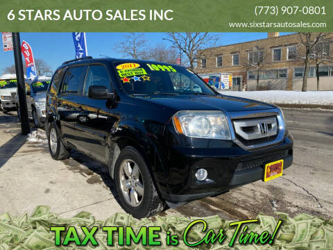 2011 Honda Pilot for sale at 6 STARS AUTO SALES INC in Chicago IL