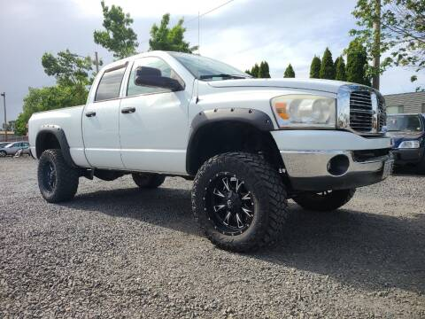 2007 Dodge Ram Pickup 2500 for sale at Universal Auto Sales in Salem OR