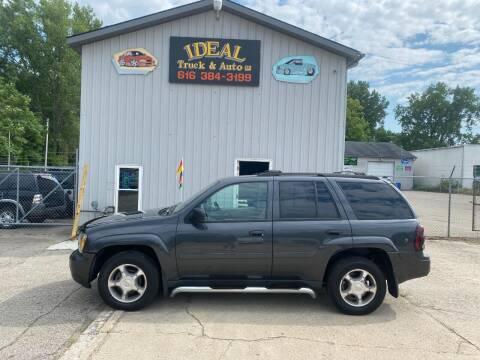 2007 Chevrolet TrailBlazer for sale at IDEAL TRUCK & AUTO LLC in Coopersville MI