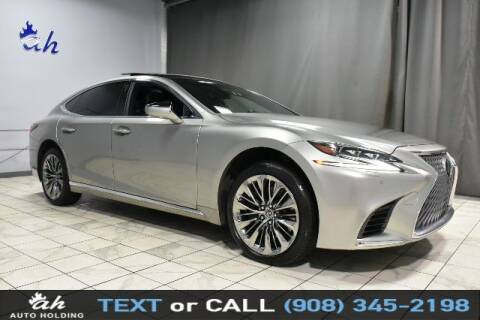 2018 Lexus LS 500 for sale at AUTO HOLDING in Hillside NJ