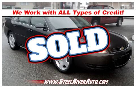 2008 Chevrolet Impala for sale at Steel River Auto in Bridgeport OH