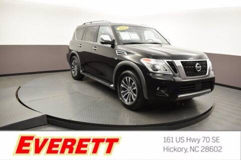 2019 Nissan Armada for sale at Everett Chevrolet Buick GMC in Hickory NC