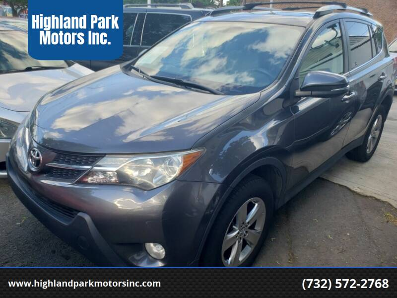 2015 Toyota RAV4 for sale at Highland Park Motors Inc. in Highland Park NJ