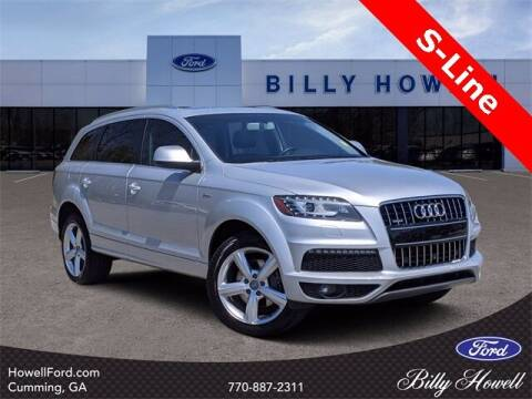 2015 Audi Q7 for sale at BILLY HOWELL FORD LINCOLN in Cumming GA